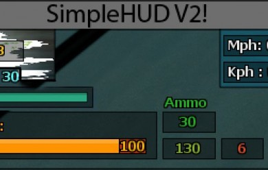 simplehud2.zip For Garry's Mod Image 1