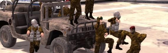 MG2 Guard Lookalikes