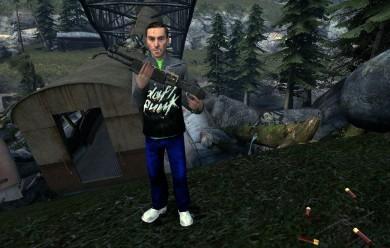 daft_punk_player_model_npc_v2. For Garry's Mod Image 1