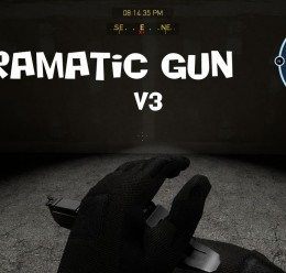 Dramatic gun v3 For Garry's Mod Image 1