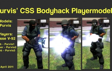 Purvis CTHack Playermodels For Garry's Mod Image 1