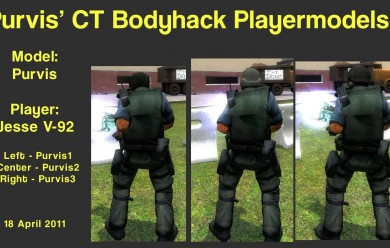 Purvis CTHack Playermodels For Garry's Mod Image 2