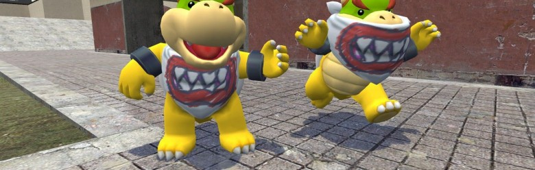 Super Mario Galaxy Bowser Jr For Garry's Mod Image 1