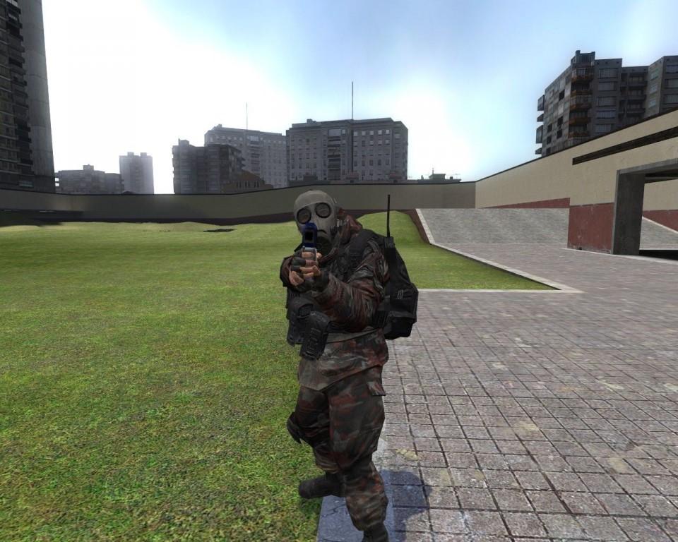 Скачать аддон на Гаррис мод Player-модели из игры CoD MW2