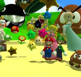 Super Mario Galaxy Pack (#1) For Garry's Mod Image 1