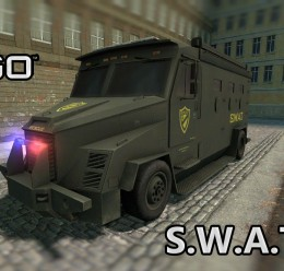 SWAT Van From CS:GO SCars For Garry's Mod Image 1