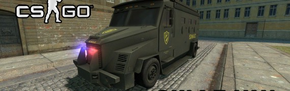 SWAT Van From CS:GO SCars