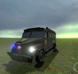 SWAT Van From CS:GO SCars For Garry's Mod Image 3