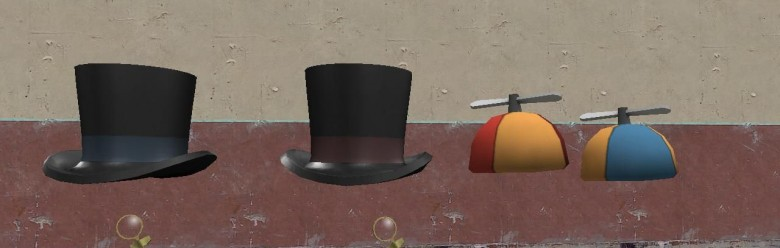 top_hat_and_monocle_hex.zip For Garry's Mod Image 1