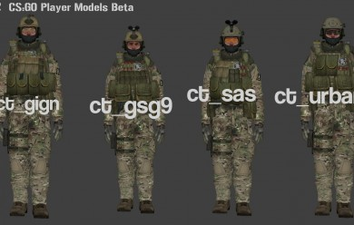 CS-GO Players v1.2 For Garry's Mod Image 1