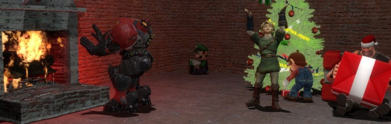 a_videogame_christmas_backgrou For Garry's Mod Image 1
