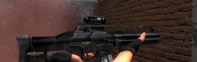 Trucker's Crysis SCAR v2 For Garry's Mod Image 1