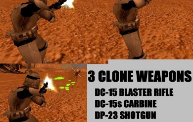 Clone Trooper SWEPs for NPCs For Garry's Mod Image 1