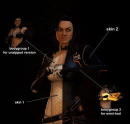 Mass Effect 3 Miranda Lawson For Garry's Mod Image 3