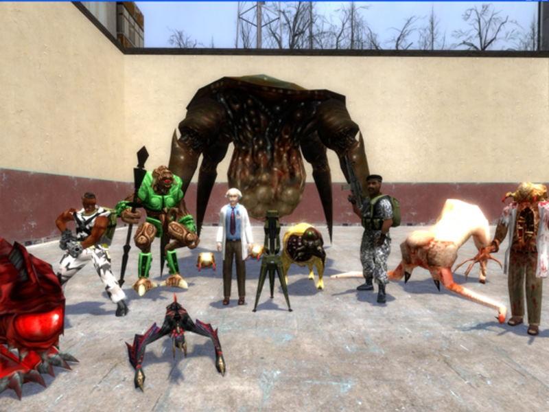 Half-Life Renaissance by Silverlan | garrysmods org