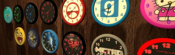 Hour Animated Clock