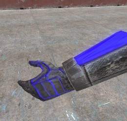 Glowing Blue Neon Hands For Garry's Mod Image 2