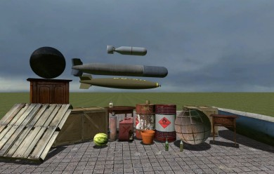 Explosives,breakable spawnlist For Garry's Mod Image 1