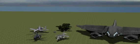 6 Flyable Aircraft (Adv Dup)