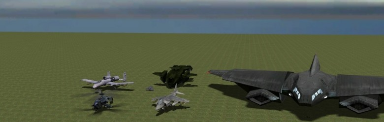 6 Flyable Aircraft (Adv Dup) For Garry's Mod Image 1