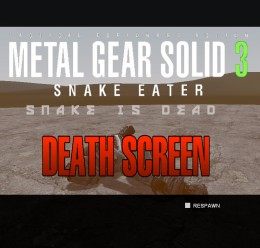 Metal Gear Solid 3 DeathScreen For Garry's Mod Image 1
