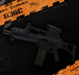 Smg Replacement G36C For Garry's Mod Image 1