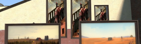 TF2 Mann Manor paintings hex