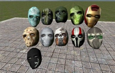 FO3 Custom AoT Masks For Garry's Mod Image 2