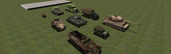 WW2 Vehicles Pack