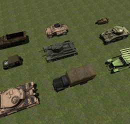 WW2 Vehicles Pack For Garry's Mod Image 3