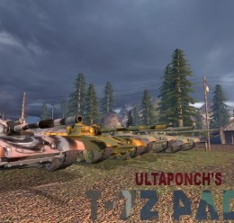 UltaPonch's T72 Pack.zip For Garry's Mod Image 3