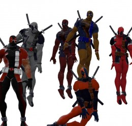 Deadpool MVC3 skins For Garry's Mod Image 1