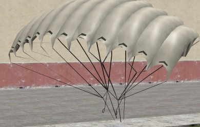 Just Cause Parachute Model For Garry's Mod Image 1