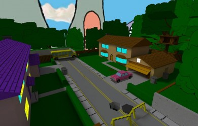 simpsons_map.zip For Garry's Mod Image 1