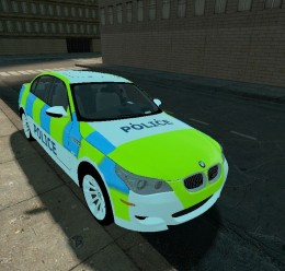 bmw_m5_e60_british_police_skin For Garry's Mod Image 2