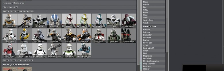 Clone Trooper NPC Spawn Icons For Garry's Mod Image 1