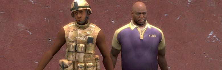 L4D2 Soldier Coach For Garry's Mod Image 1