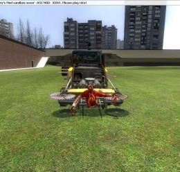 Zombie Survival Car For Garry's Mod Image 1