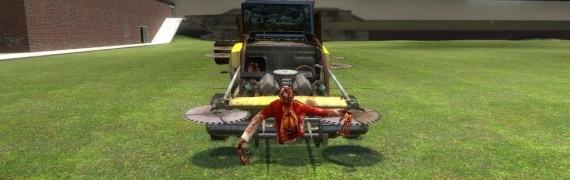 Zombie Survival Car