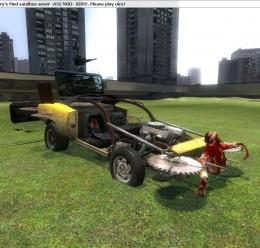 Zombie Survival Car For Garry's Mod Image 3
