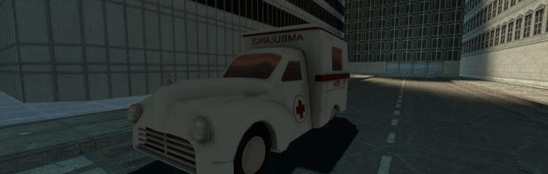 tf2_drivable_ambulance.zip For Garry's Mod Image 1