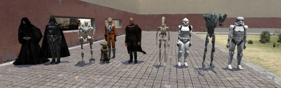 Star wars ragdolls