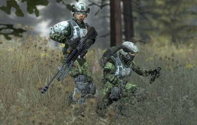 Reach Marines Female For Garry's Mod Image 1