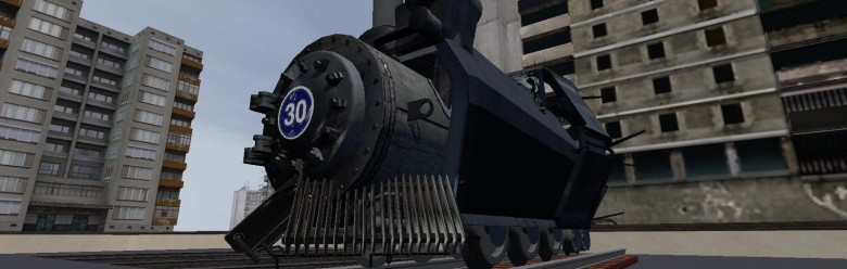 Combine Steam Train save (fix) For Garry's Mod Image 1