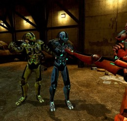 Mortal Kombat Legacy Cyborgs For Garry's Mod Image 2
