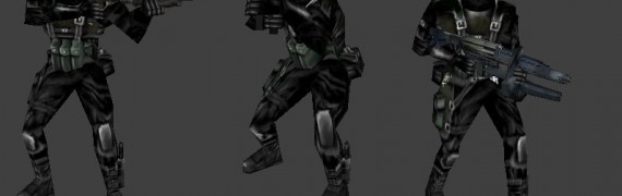Opposing Force Male Assassins