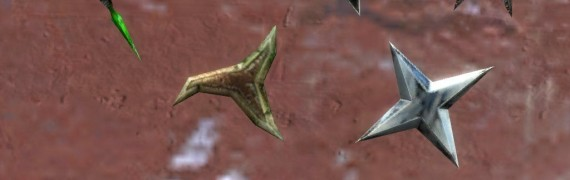 Morrowind Throwing Stars