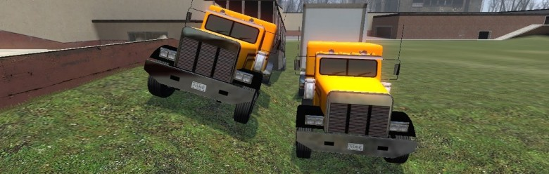 two_trucks.zip For Garry's Mod Image 1