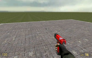 red_pistol.zip For Garry's Mod Image 1