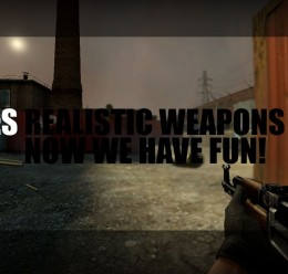 CSS Realistic Weapons 4.0 (Adm For Garry's Mod Image 1